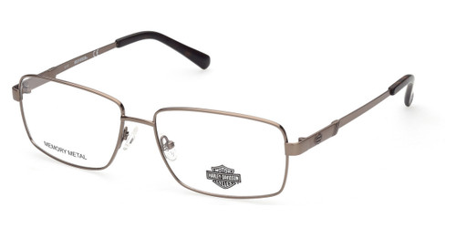 Shiny Light Brown HARLEY DAVIDSON HD0855 Eyeglasses.