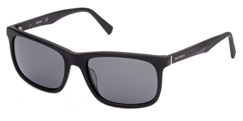 Matte Black/Smoke Polarized HARLEY DAVIDSON HD0945X Sunglasses.