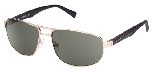 Gold/Green HARLEY DAVIDSON HD0946X Sunglasses.