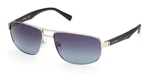 Shiny Light Nickeltin/Smoke Polarized HARLEY DAVIDSON HD0946X Sunglasses.