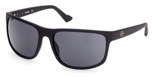 Matte Black/Smoke HARLEY DAVIDSON HD0947X Sunglasses.
