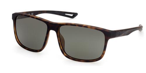 Dark Havana/Green HARLEY DAVIDSON HD0959X Sunglasses.