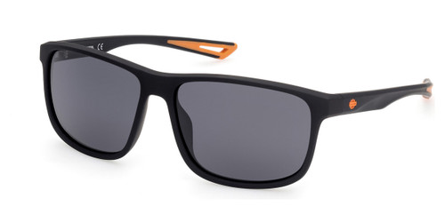 Matte Black/Smoke Polarized HARLEY DAVIDSON HD0959X Sunglasses.