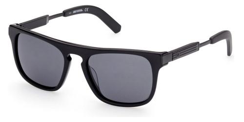 Shiny Black/Smoke Polarized HARLEY DAVIDSON HD1004x Sunglasses.