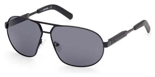 Shiny Black/Smoke Polarized HARLEY DAVIDSON HD1005x Sunglasses.