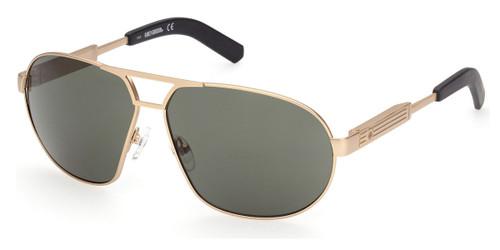 Gold/Green HARLEY DAVIDSON HD1005x Sunglasses.