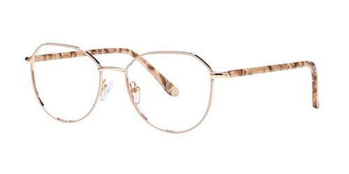 Beige/GoldElan 3429 Eyeglasses.