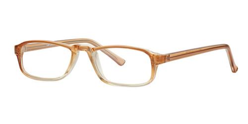 Brown Fade Parade Q Series 1802 Eyeglasses