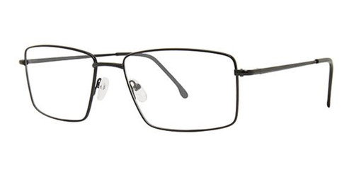 Matte Black Parade Q Series 1631 Eyeglasses