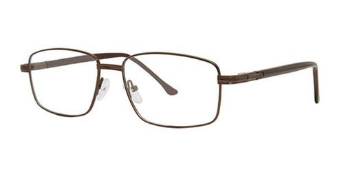 Matte Brown Parade Q Series 1629 Eyeglasses