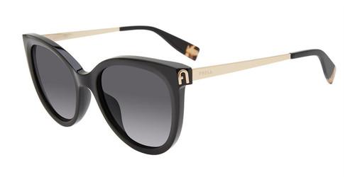 Black (0700) Furla SFU508 Sunglasses