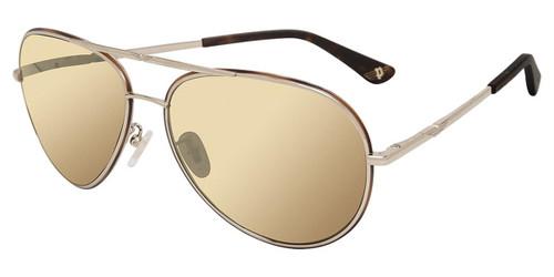 Tortoise Gold(320G) Police SPL966N Sunglasses.