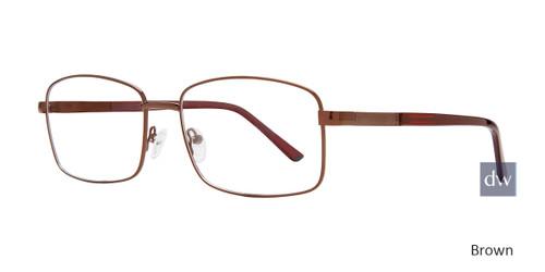 Brown Eight To Eighty Liberty Eyeglasses.