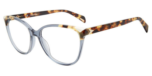 Grey (0U11) Police VPLD90W Eyeglasses.