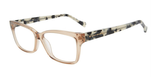 Beige Crystal Lucky Brand VLBD236 Eyeglasses