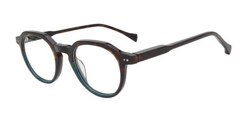 Havana Green Lucky Brand VLBD422 Eyeglasses