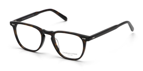 Dark Tortoise William Morris Charles Stone NY CSNY30085 Eyeglasses