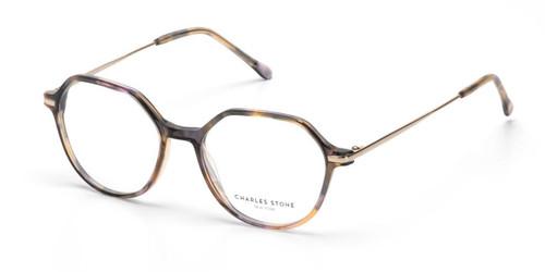 Brown William Morris Charles Stone NY CSNY30082 Eyeglasses - Teenager