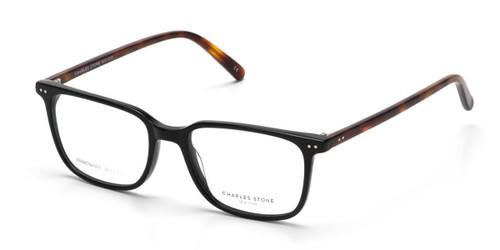 Black William Morris Charles Stone NY CSNY30081 Eyeglasses