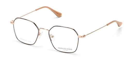 Black William Morris Charles Stone NY CSNY30080 Eyeglasses - Teenager