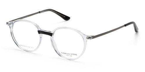 Crystal/Black William Morris Charles Stone NY CSNY30074 Eyeglasses