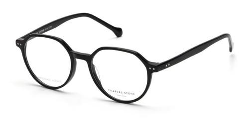 Black William Morris Charles Stone NY CSNY30075 Eyeglasses - Teenager
