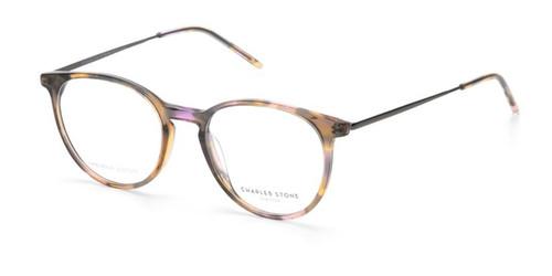 Brown Demi William Morris Charles Stone NY CSNY30073 Eyeglasses