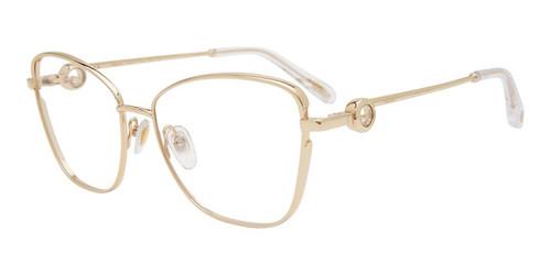 Gold Chopard VCHF15S Eyeglasses