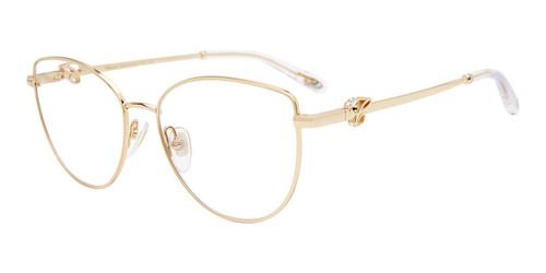 Gold Chopard VCHF51S Eyeglasses