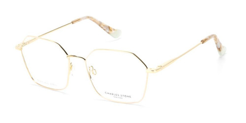Cream/Gold William Morris Charles Stone NY CSNY30070 Eyeglasses