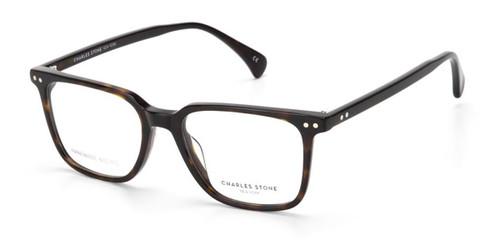 Dark Tortoise William Morris Charles Stone NY CSNY30066 Eyeglasses
