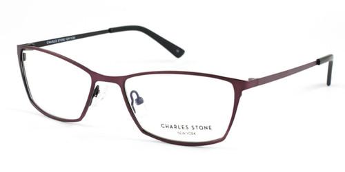 Pink Grey William Morris Charles Stone NY CSNY82 Eyeglasses