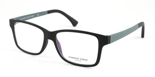 Black/Grey William Morris Charles Stone NY CSNY48 Eyeglasses