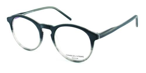 Matt Black Grad William Morris Charles Stone NY CSNY314 Eyeglasses - Teenager