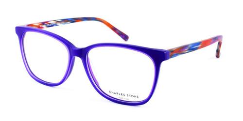 Matt Purple/Tort William Morris Charles Stone NY CSNY312 Eyeglasses
