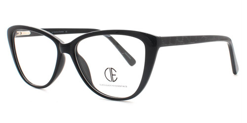 Black Cie Sec159 Eyeglasses