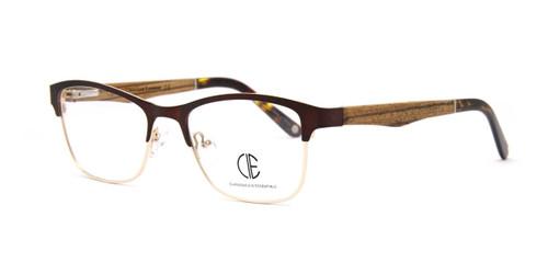 Cafe/Gold Cie Sec704 Eyeglasses