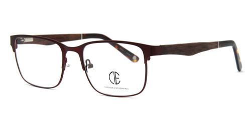 Matt Brown/Shiny Brown Cie Sec702 Eyeglasses