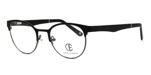 Matt Black/Gun Grey Cie Sec701 Eyeglasses - Teenager