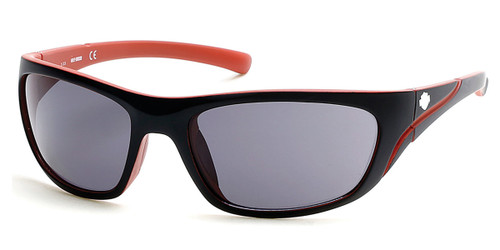 Black/Smoke HARLEY DAVIDSON HD0903X Sunglasses.