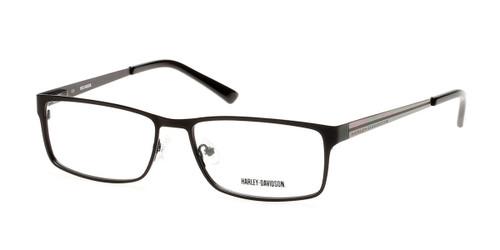 Black (B84) HARLEY-DAVIDSON HD0722 Eyeglasses.