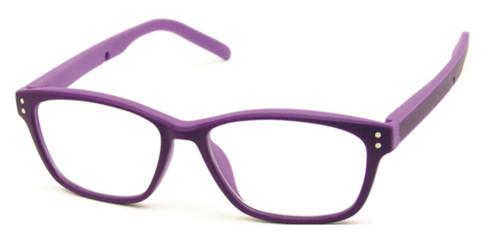 Dark Purple/Purple Polinelli P200 Eyeglasses