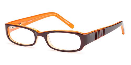 Brown Capri Trendy T15 Eyeglasses