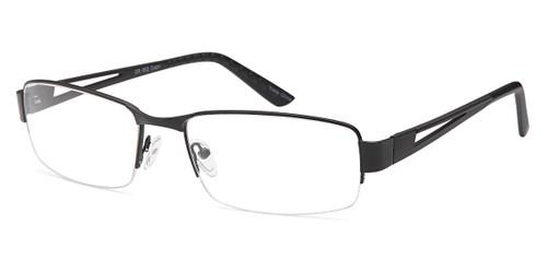 Black CAPRI GR 802 Eyeglasses.