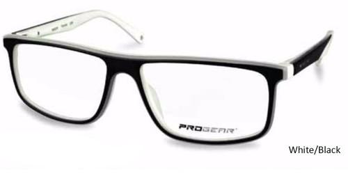 white/Black Progear OPT-1135 Eyeglasses