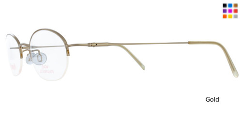 Gold WOMANS DAY 112 Eyeglasses
