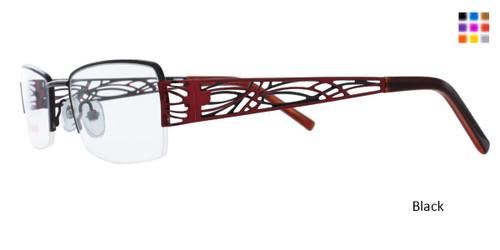 Black WOMANS DAY 161 Eyeglasses