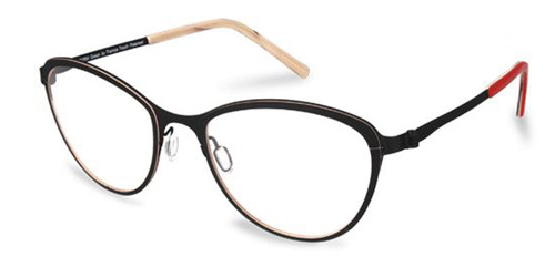 Black Free-Form FFA974L Eyeglasses