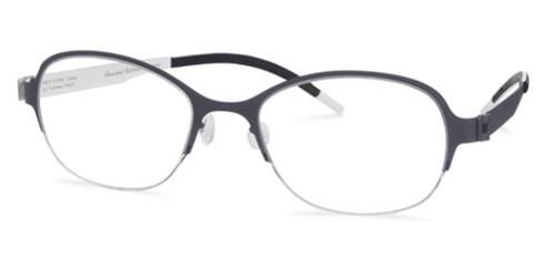 Black/White Free-Form FFA937 Eyeglasses.