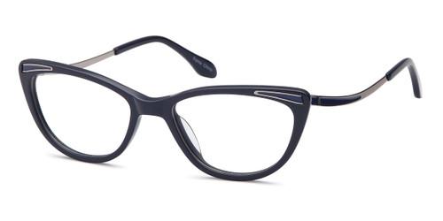 Blue Capri Dicaprio DC317 Eyeglasses.